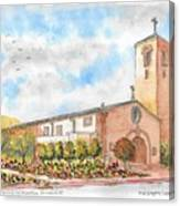 Our Lady Of Assumption Catholic Church, Claremont, California Canvas Print