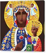 Our Lady Of Czestochowa - Mmcze Canvas Print
