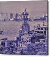 Our Lady Of Guadalope In Puerto Vallerta Mexico. Banderas Bay. Canvas Print