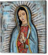 Our Lady Of Guadalupe Canvas Print