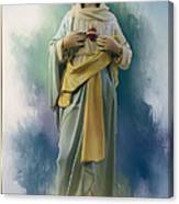 Our Lady Of The Immaculate Heart Canvas Print