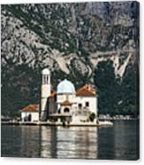 Our Lady Of The Rocks Church Canvas Print