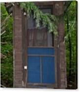 Our Outhouse - Photograph Canvas Print