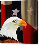 Our Proud Bird Canvas Print