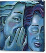 Our Secret Painting 49 Canvas Print