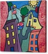Our Town Canvas Print