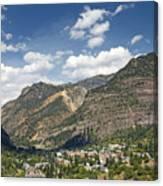 Ouray Colorado Nestled In The San Juan Mountains Canvas Print