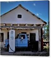 Out Of Service New Mexico Gas Station Canvas Print