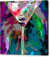 Out Of This World Martini Canvas Print