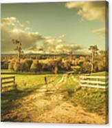 Outback Country Paddock Canvas Print