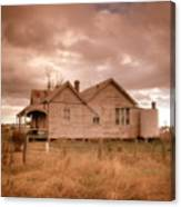 Outback Farmhouse Canvas Print