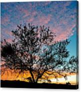 Outback Sunset Pano Canvas Print