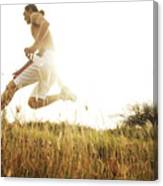 Outdoor Jogging II Canvas Print