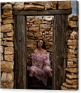 Outdoor Outhouse Canvas Print
