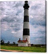 Outer Banks Beach Lighhouse  Canvas Print