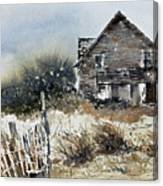 Outer Banks Shack Canvas Print