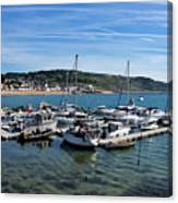 Outer Harbour - Lyme Regis Canvas Print