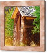 Outhouse 1 Canvas Print