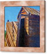Outhouse 2 Canvas Print