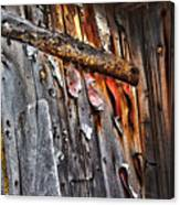 Outhouse Holzworth Historic Site Canvas Print