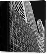 Outlines New York City Canvas Print