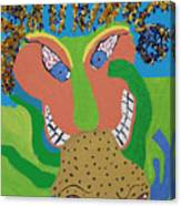 Outrageous Mind Control Canvas Print