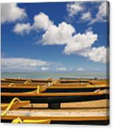 Outriggers Canvas Print