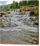 Over Natures Dam Canvas Print