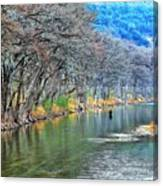 over the Guadalupe Canvas Print
