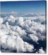 Over The Heavenly Clouds Canvas Print