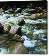 Over The Boulders - Mossman Gorge, Far North Queensland, Australia Canvas Print