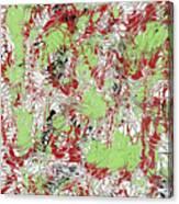 Overactive Christmas Celebration - V1db100 Canvas Print