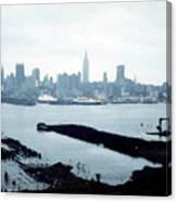 Overcast City Canvas Print