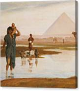Overflow Of The Nile Canvas Print