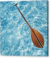 Overhead View Of Paddle Canvas Print