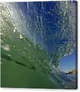 Overhead Wave Canvas Print