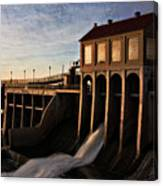 Overholser Dam Canvas Print