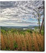 Overlook At Talking Rock Creek Canvas Print