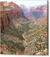 Overlook Canyon Canvas Print