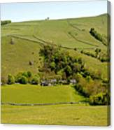 Overlooking Milldale Canvas Print