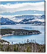 Overlooking Norris Point, Nl Canvas Print