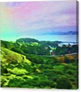 Overlooking San Francisco Bay Canvas Print