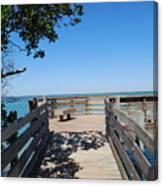 Overlooking Sarasota Bay Canvas Print