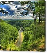 Overlooking The Genesee Canvas Print