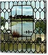Overlooking The Loire Canvas Print