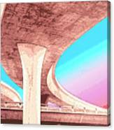 Overpass Two Canvas Print