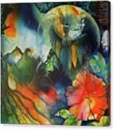 Overseer By Reina Cottier Canvas Print