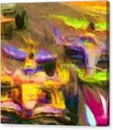 Overtaking Canvas Print