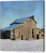 Owasa Barn 4 Canvas Print