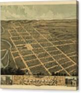 Owatonna, Minnesota 1870 Canvas Print